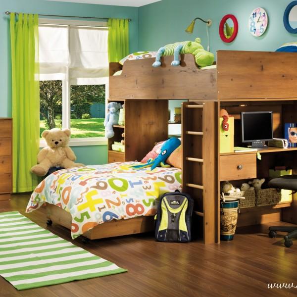 Lit superpos collection logik ameublement beaubien magasin de meubles montr al - Lits superposes montreal ...