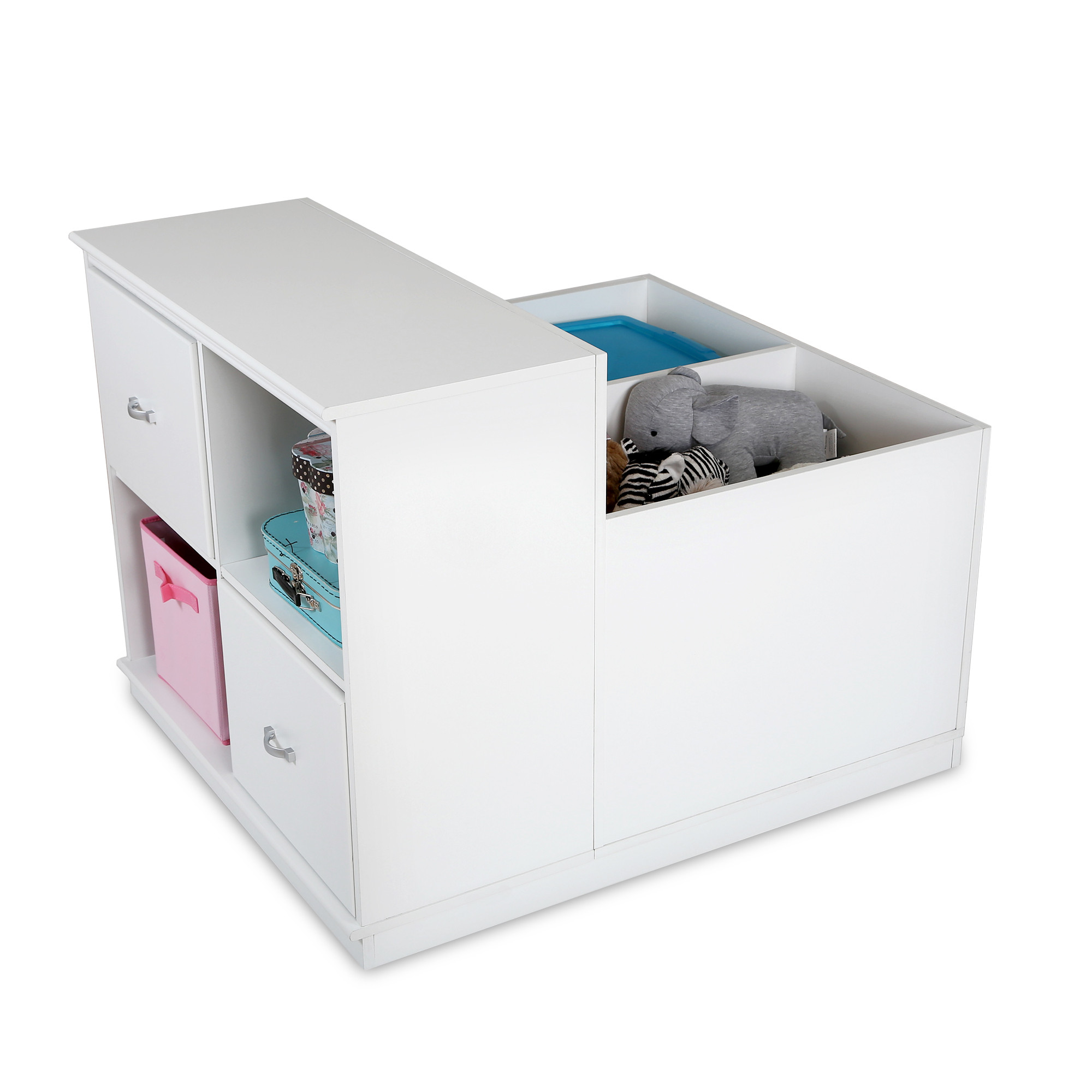 Unit de rangement mobile collection mobby ameublement for Meuble beaubien