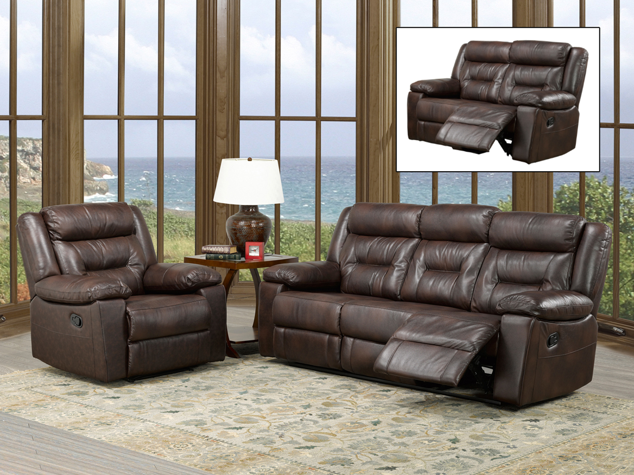 Kit of recliner set ameublement beaubien magasin de for Meuble beaubien