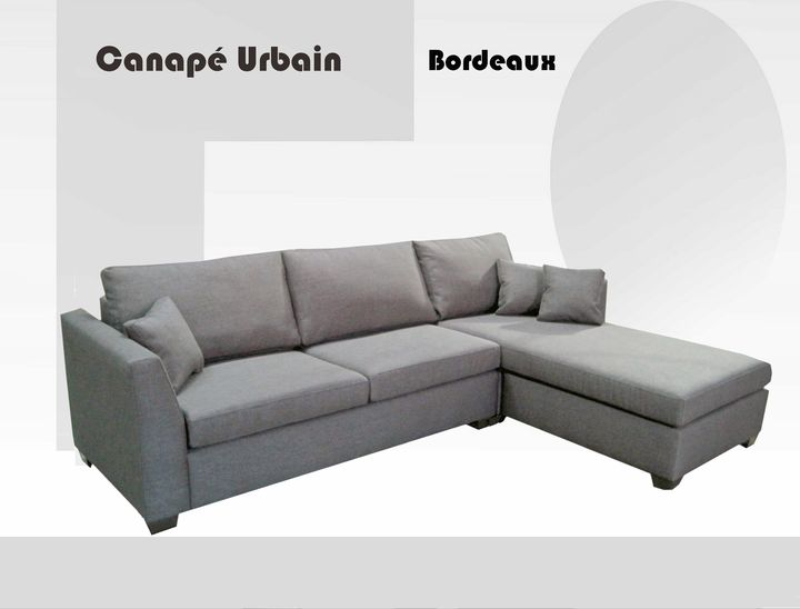 The bordeaux long reversible sofa ameublement beaubien for Meuble beaubien